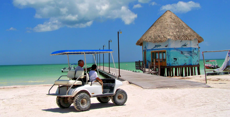 Golf Cart Holbox, Rental Golf Cart Holbox