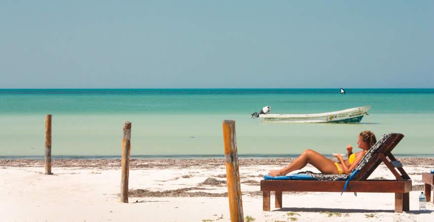 Beach Holbox Island