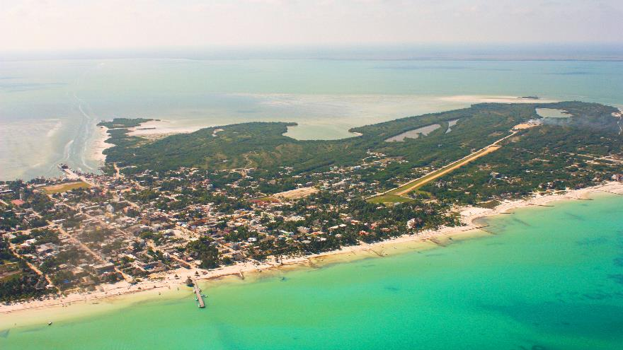 Transfers for Groups to Holbox